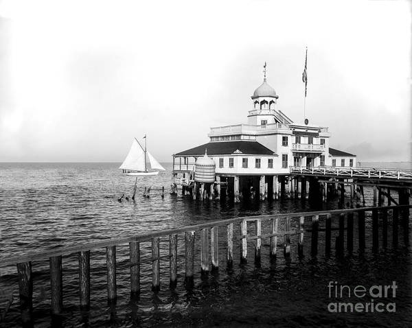 Wall Art - Photograph - Southern Yacht Club  New Orleans Ca 1890 by Jon Neidert
