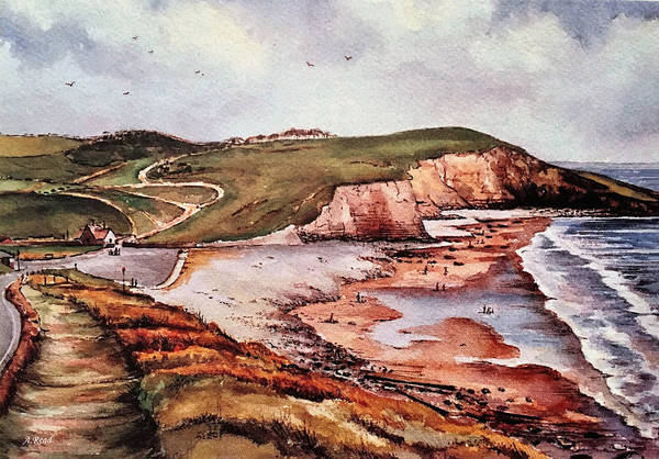 Wall Art - Painting - Southerndown Wales by Andrew Read