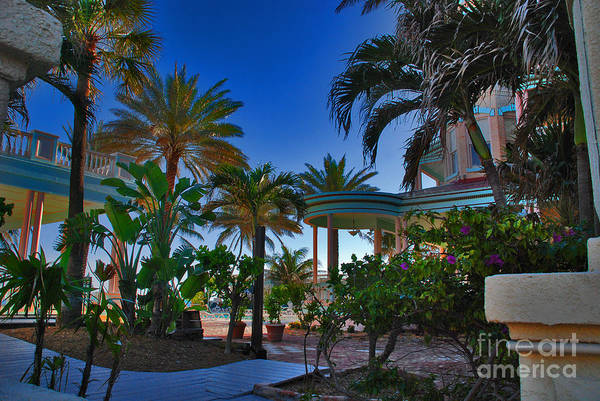 Photograph - Southernmost Lush Garden In Key West by Susanne Van Hulst