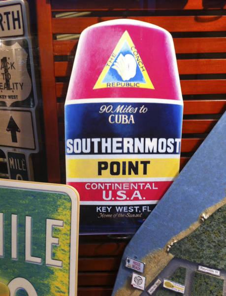 Photograph - Southernmost Point by Karen Zuk Rosenblatt