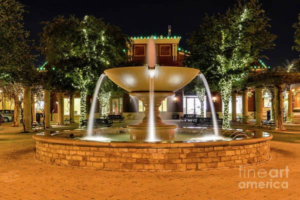 Photograph - Southlake Tx Fountain by Paul Quinn