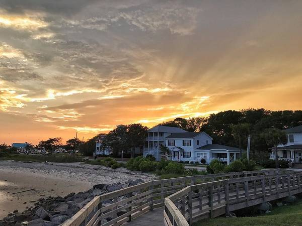 Photograph - Southport Sunset by Chris Berrier