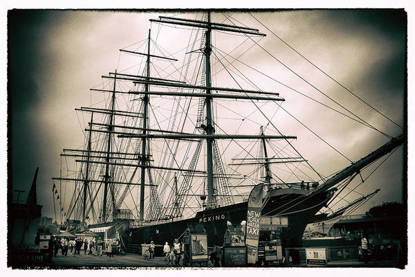 Photograph - South Street Seaport by Jessica Jenney