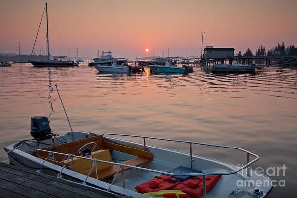 Photograph - Southwest Harbor Sunrise by Susan Cole Kelly