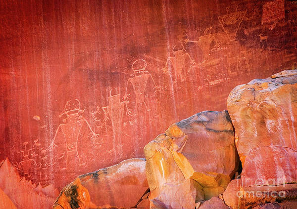 Photograph - Southwest Petroglyph by Scott Kemper