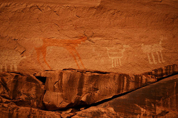 Photograph - Southwest Rock Art by Craig Ratcliffe