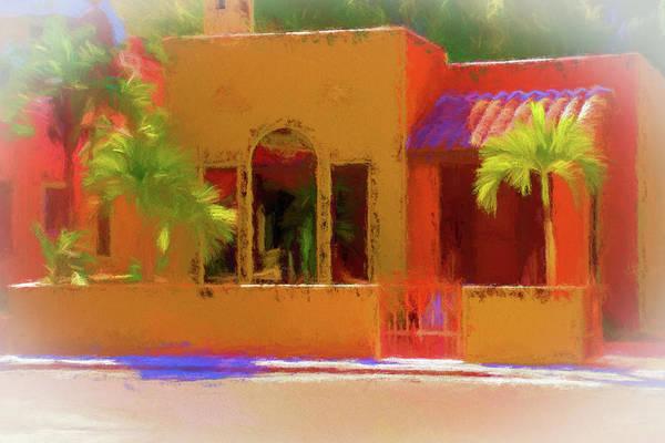 Brick House Mixed Media - Southwest Style by Terry Davis