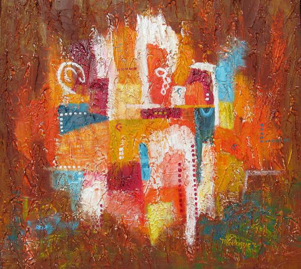Painting - Southwest Sunburst by Marilyn Rodriguez