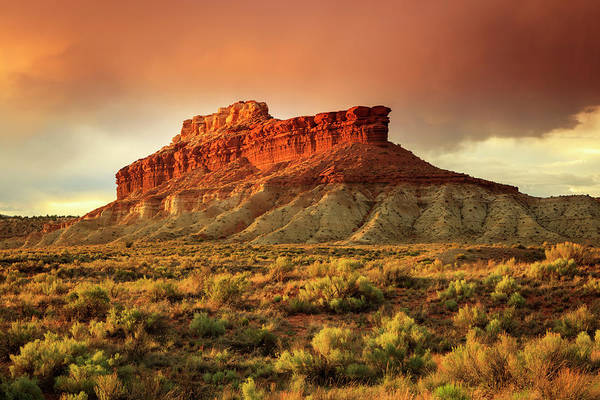 Grand Mesa Photograph - Southwest Sunset by Johnny Adolphson