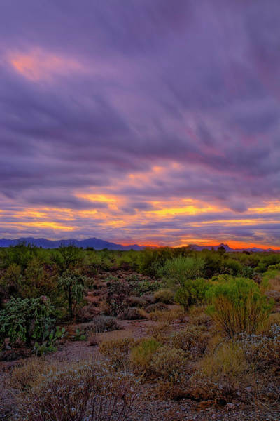 Photograph - Southwest Sunset V11 by Mark Myhaver