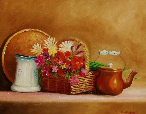 Painting - Southwest Table by Gene Gregory