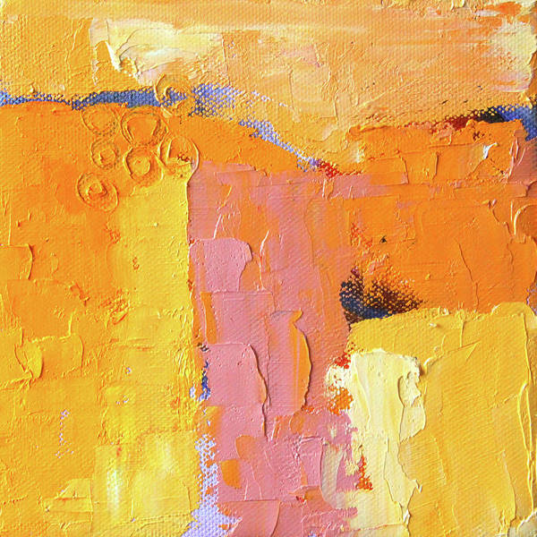 Wall Art - Painting - Southwestern Abstract Landscape by Nancy Merkle