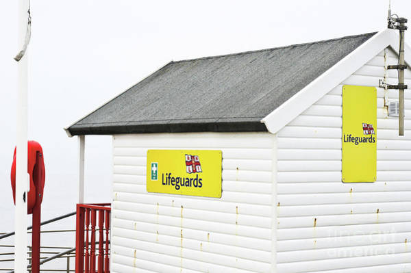 Wall Art - Photograph - Southwold Lifeguard Hut by Tom Gowanlock