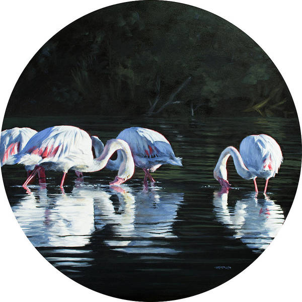 Painting - Soutpan Morning by Christopher Reid