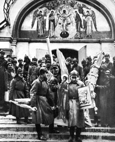 Photograph - Soviet Anti-religion Policy by Granger