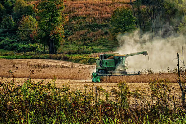 Wall Art - Digital Art - Soy Bean Harvest by Elijah Knight