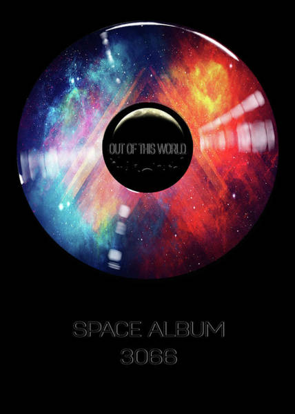 Digital Art - Space Album 3066 Out Of This World by Christina VanGinkel