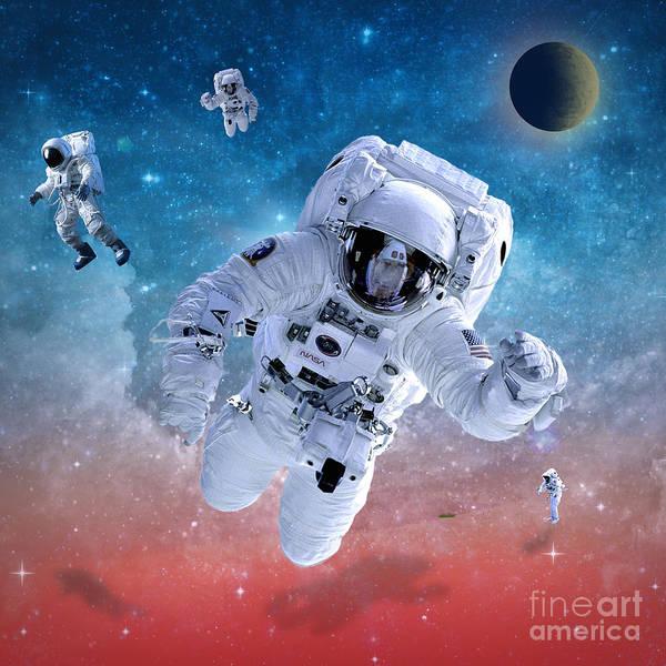 Wall Art - Photograph - Space Astronaut by Mark Ashkenazi
