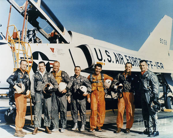 Gus Photograph - Space: Astronauts, C1961 by Granger