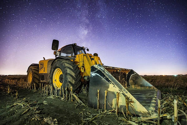 Photograph - Space Construction by Aaron J Groen