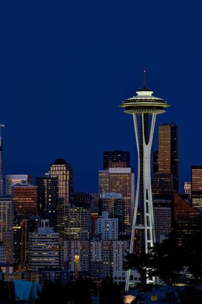 Photograph - Space Needle by Dillon Kalkhurst
