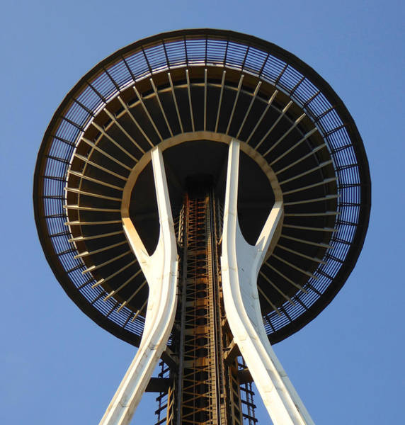 Photograph - Seattle Space Needle - Architecture Photo by Peter Potter