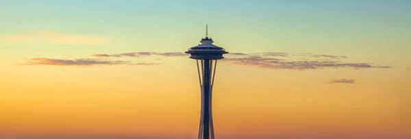 Seattle Skyline Photograph - Space Needle by Thorsten Scheuermann