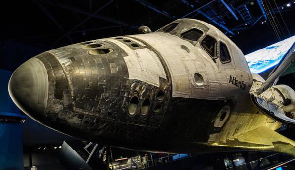 Photograph - Space Shuttle Atlantis by David Hart