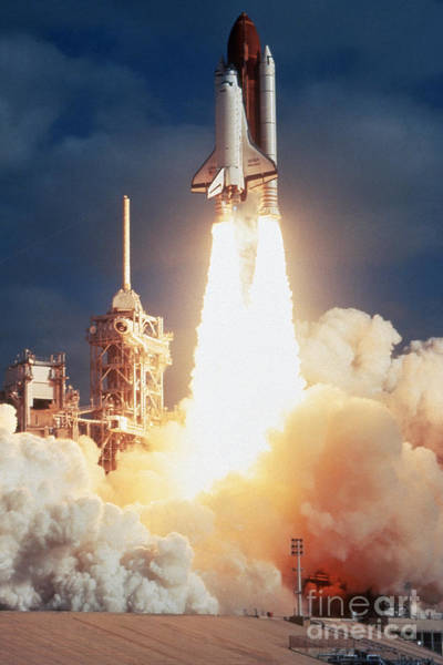 Photograph - Space Shuttle Launch  by Granger