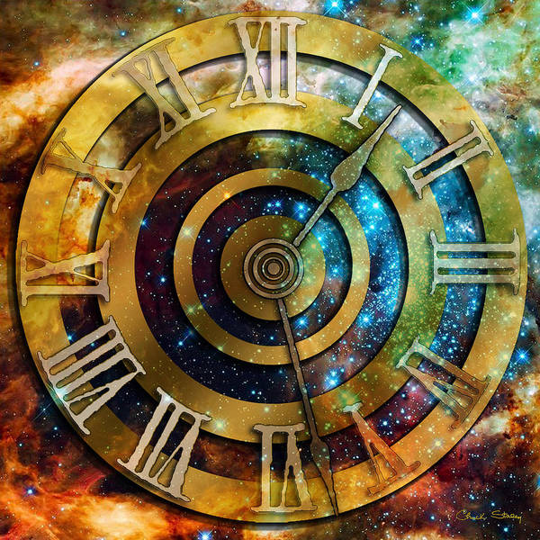 Digital Art - Space Time by Chuck Staley