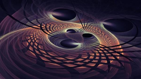 Digital Art - Space Time Continuuum by Doug Morgan