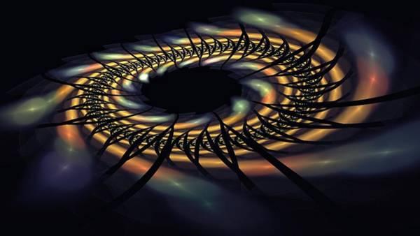 Digital Art - Space Time Disruption-3 by Doug Morgan