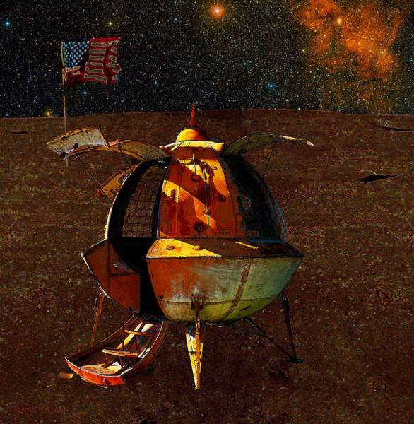 Photograph - Space Vagabond by Susan Vineyard