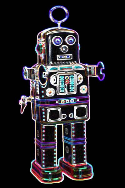 Spaceman Wall Art - Digital Art - Spaceman Robot by DB Artist