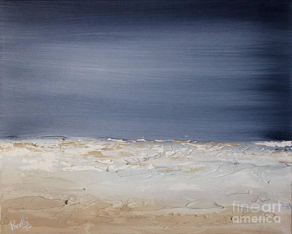 Painting - Spacemoon 1 by Preethi Mathialagan