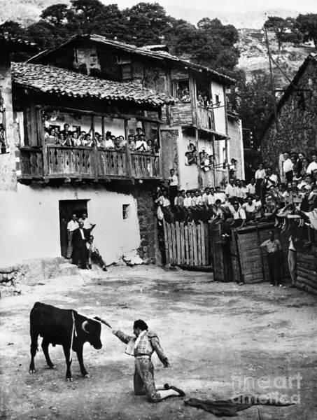 Photograph - Spain: Bullfight by Granger