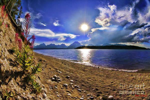 Photograph - Spalding Bay Yellowstone by Blake Richards