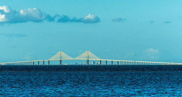 St. Petersburg Photograph - Span Over St. Petersburg by Marvin Spates