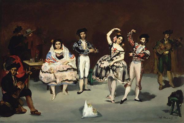 Latina Painting - Spanish Ballet 1862 by Edouard Manet
