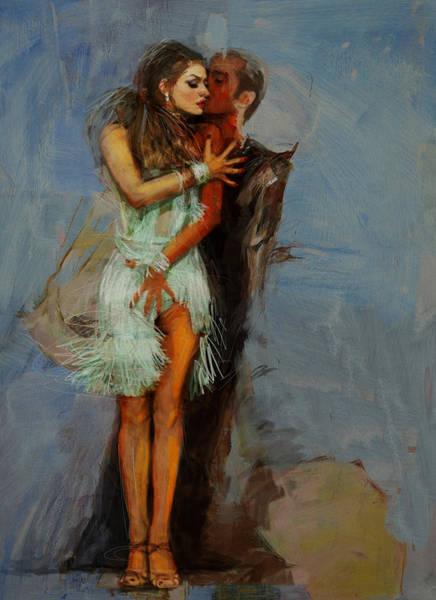 Senorita Painting - Spanish Culture 13 by Corporate Art Task Force