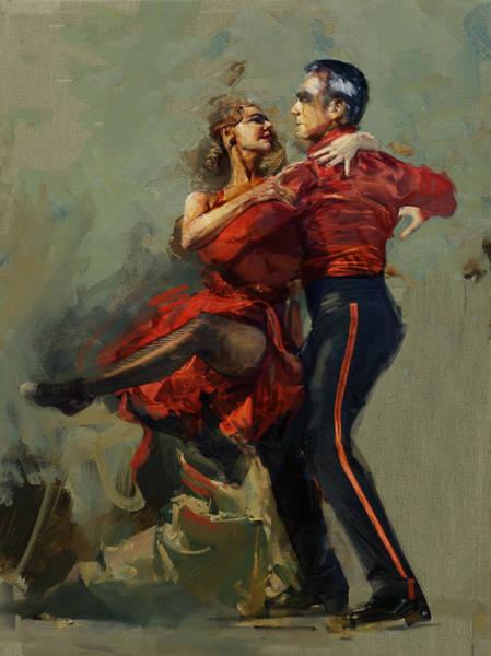 Senorita Painting - Spanish Culture 17 by Corporate Art Task Force