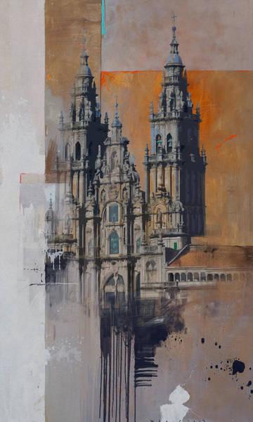 Senorita Painting - Spanish Culture 5 by Corporate Art Task Force