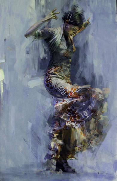 Senorita Painting - Spanish Culture 9b  by Corporate Art Task Force
