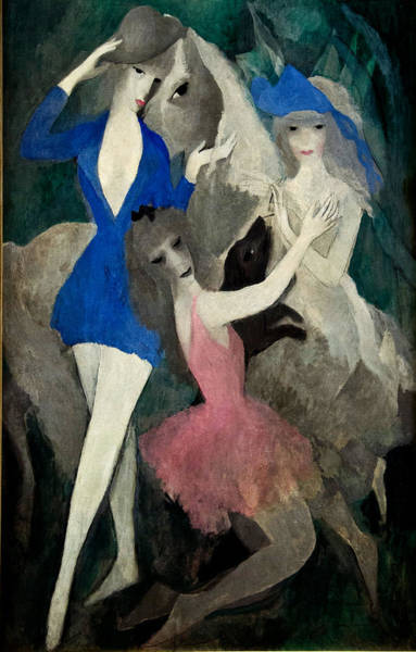 Wall Art - Painting - Spanish Dancers by Marie Laurencin