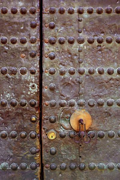 Lock Gates Photograph - Spanish Door by Carlos Caetano