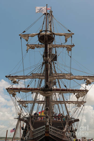 Photograph - Spanish Galleon Replica by Dale Powell