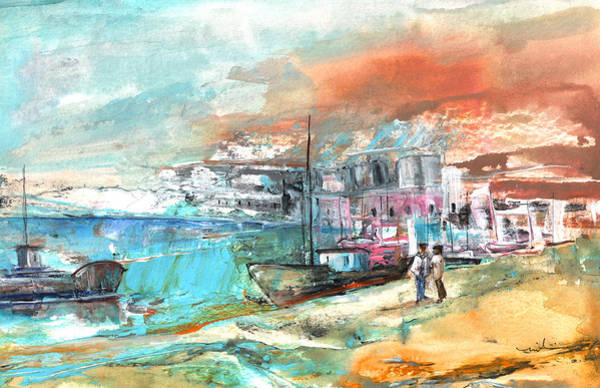 Painting - Spanish Harbour 07 by Miki De Goodaboom