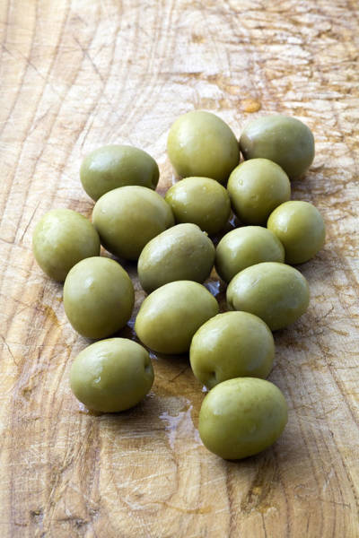 Wall Art - Photograph - Spanish Manzanilla Olives by Frank Tschakert