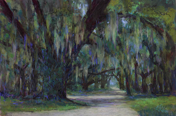 Wall Art - Painting - Spanish Moss by Billie Colson