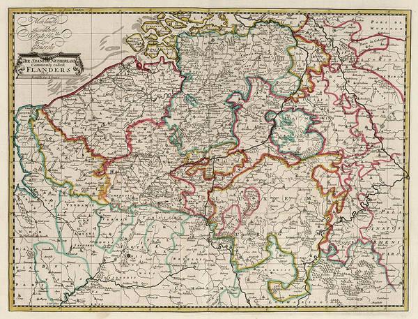 Wall Art - Painting - The Empire Of Germany by John Senex